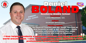 Teacher of the Year Spotlight - Daniel Boland