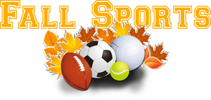 Fall Sports Schedules (at a glance)
