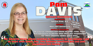 Teacher of the Year Spotlight - Pam Davis