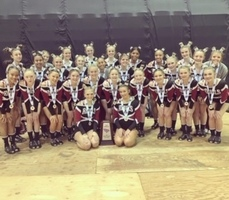 MC Varsity Cheer is 2nd in the State!