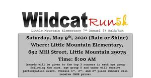 Wildcat Run 5k           Saturday, May 9th