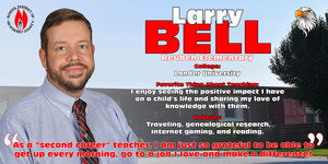 Teacher of the Year Spotlight - Larry Bell
