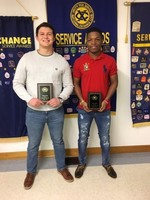 Exchange Club Students of the Month