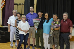 Irvin Receives Teacher of the Year Honor