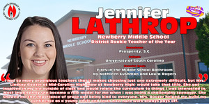Teacher of the Year Spotlight - Jennifer Lathrop