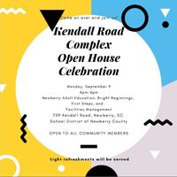 District to Host Kendall Road Complex Open House Celebration