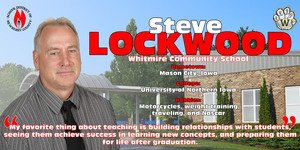 Teacher of the Year Spotlight - Steve Lockwood