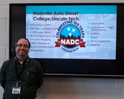 Lincoln Tech Visit today