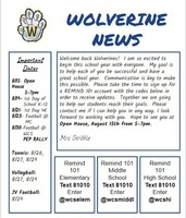 *Wolverine Newsletter for August*
