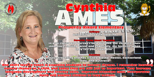 Teacher of the Year Spotlight - Cynthia Ames