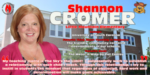 Teacher of the Year Spotlight - Shannon Cromer
