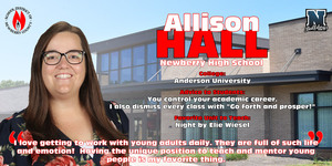 Teacher of the Year Spotlight - Allison Hall