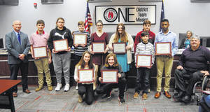 Board recognizes S.C. Junior Scholars