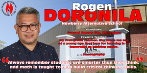 Teacher of the Year Spotlight - Rogen Doronila