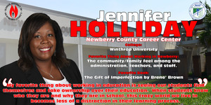 Teacher of the Year Spotlight - Jennifer Holliday