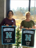 November Teacher of the Month and Support Staff Employee