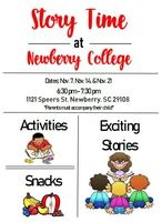 Newberry College to Host Story Time for Elementary Students