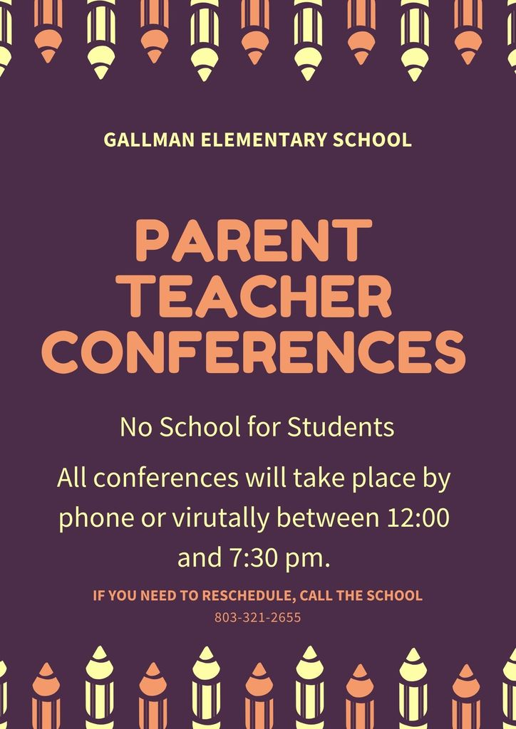 No school - parent teacher conferences today