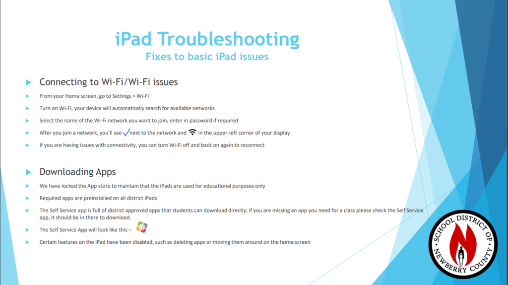 iPad Troubleshooting Tips
