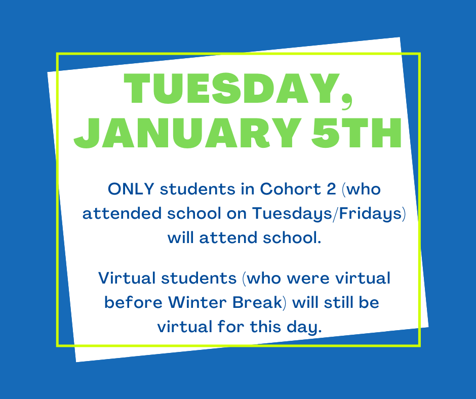 Tuesday, Jan 5th