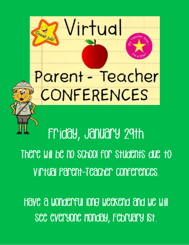 No School - Virtual Parent - Teacher Conferences