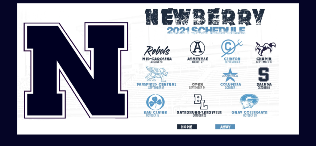 NHS Football Schedule for 2021