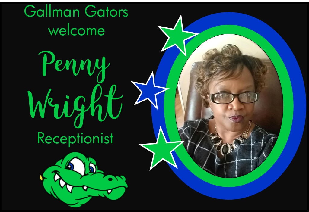 Mrs. Penny Wright, Receptionist