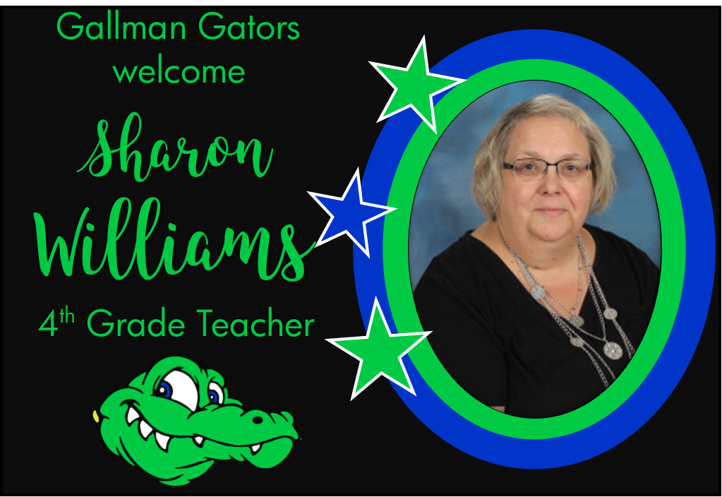 Sharon Williams, 4th Grade Teacher