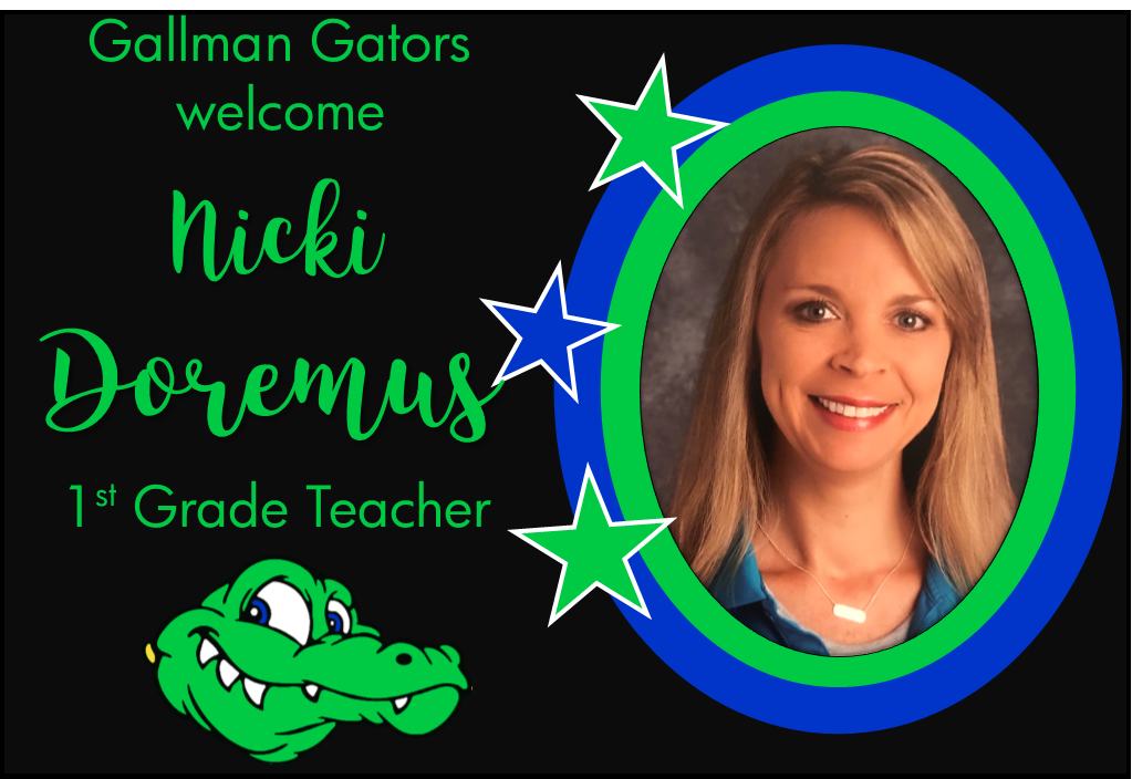 Nicki Doremus, 1st Grade Teacher