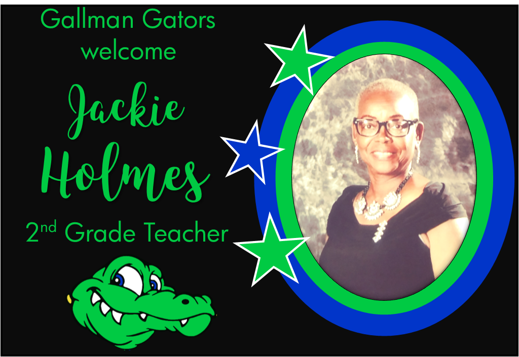 Jackie Holmes, 2nd Grade Teacher