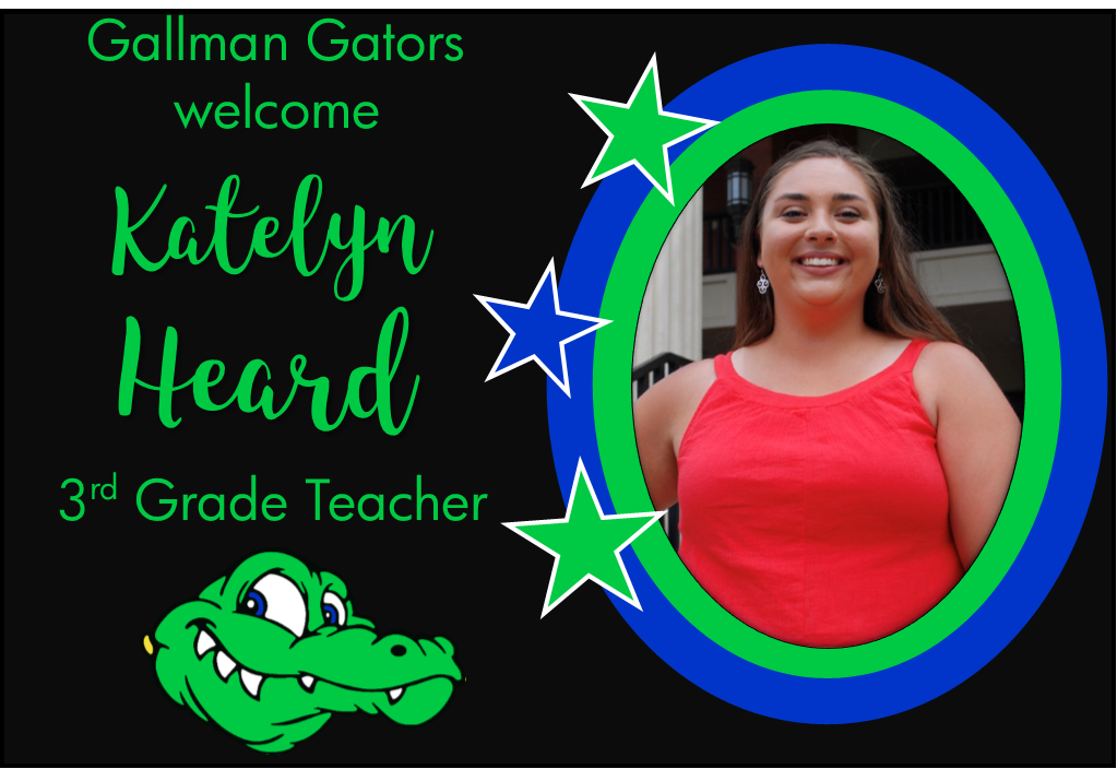 Katelyn Heard, 3rd Grade Teacher