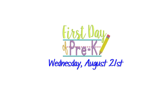 First Day for Pre-K
