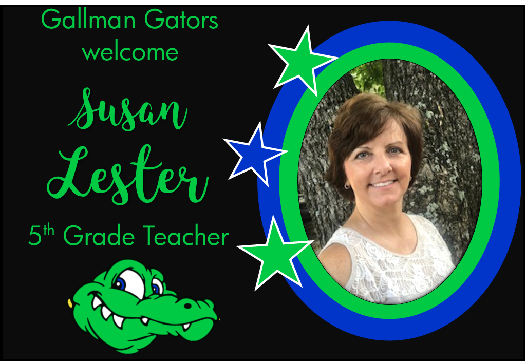 Susan Lester, 5th Grade Teacher