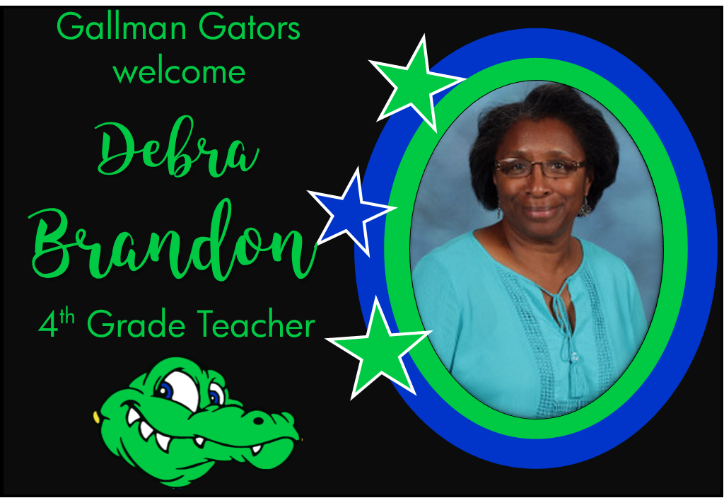 Debra Brandon, 4th Grade Teacher