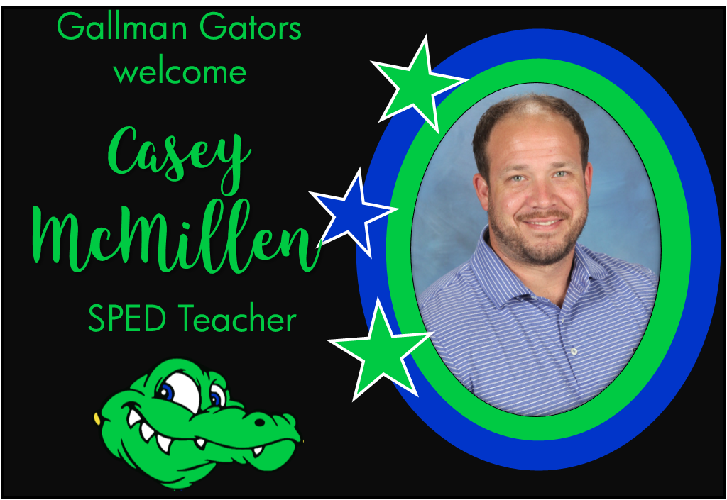 Casey McMillen, SPED Teacher