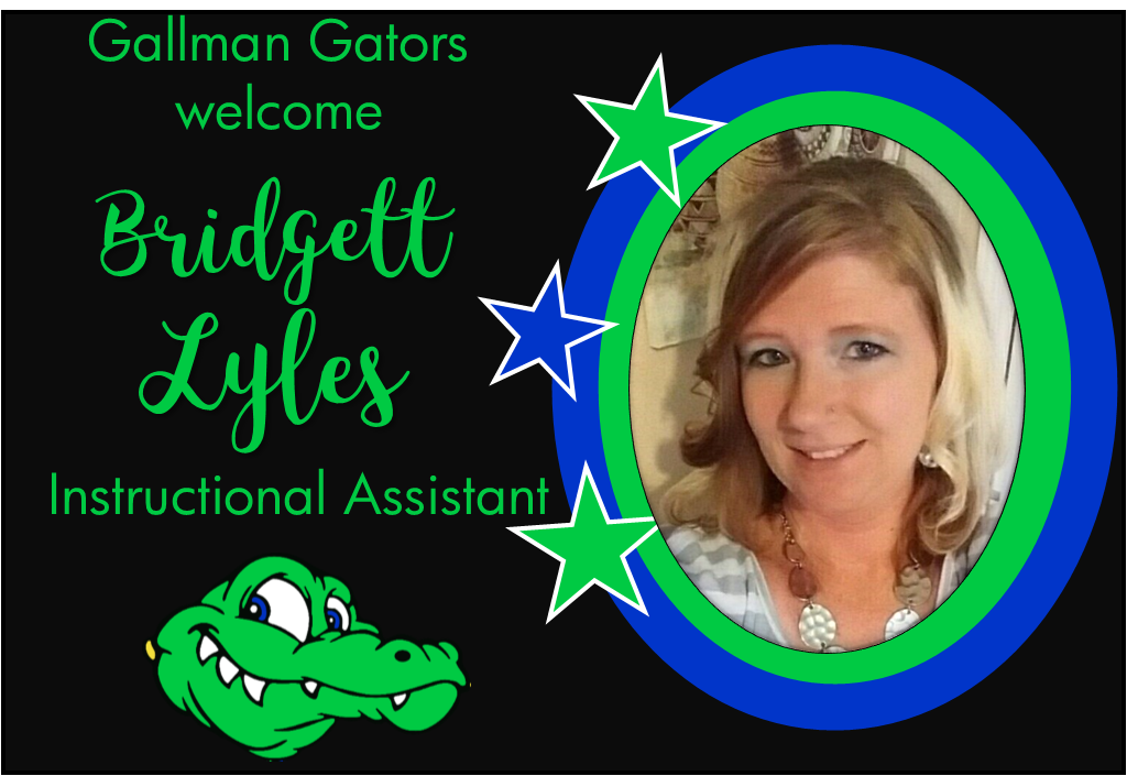 Bridgett Lyles, Instructional Assistant