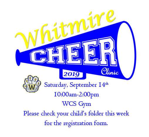 WCS Cheer Clinic