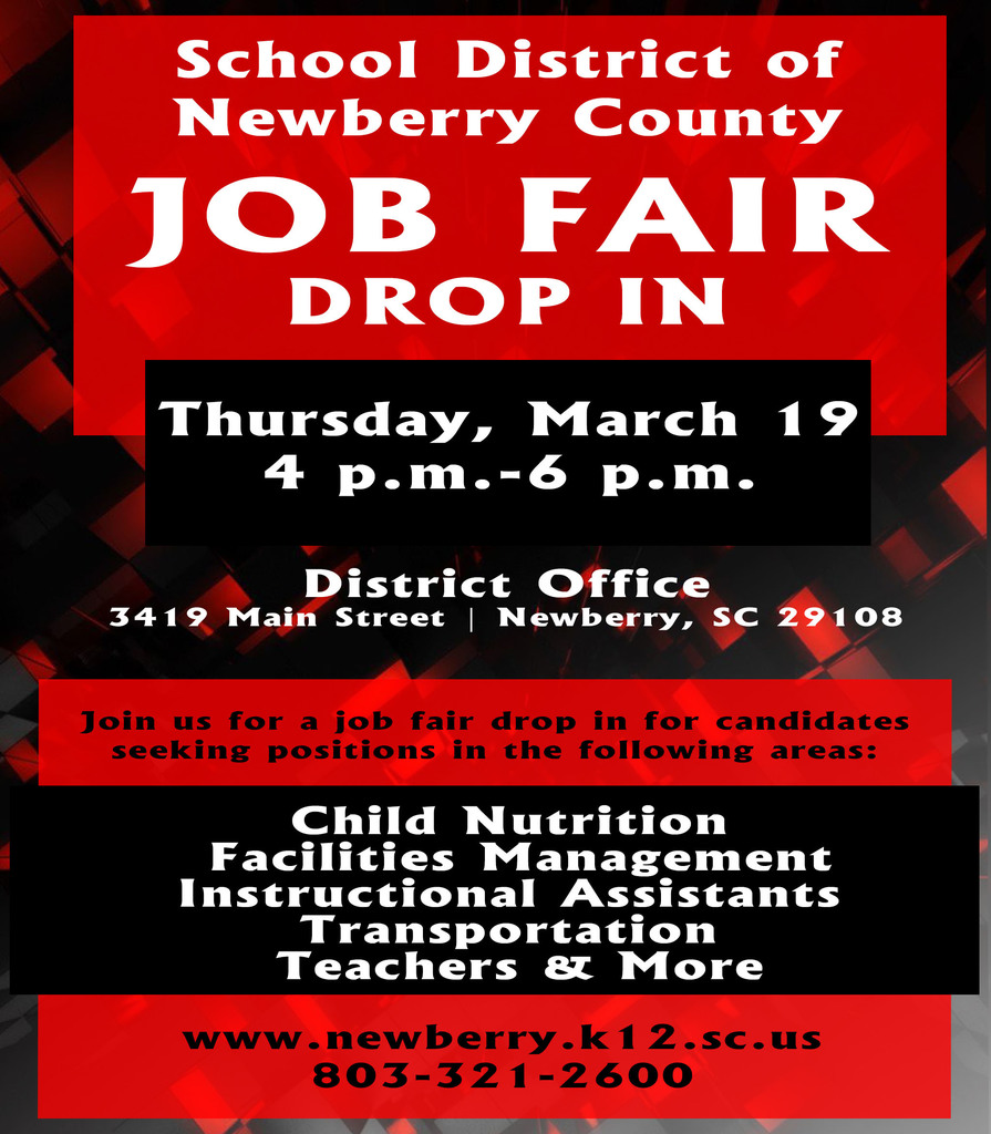 District Job Fair March 19th