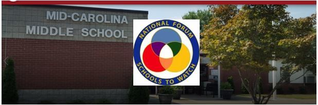 MCMS is redesignated as a National School to Watch again in 2019!